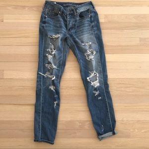 Denim - Size 2 tall tomgirl jeans (run big)